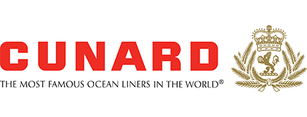 Cunard Cruises - Getting there is Half the Fun logo